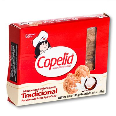 Panelitas de Arequipe y coco Copelia
