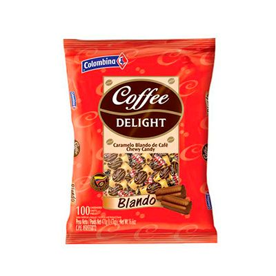 Coffee Delight Blando x 100 Unidades 430g