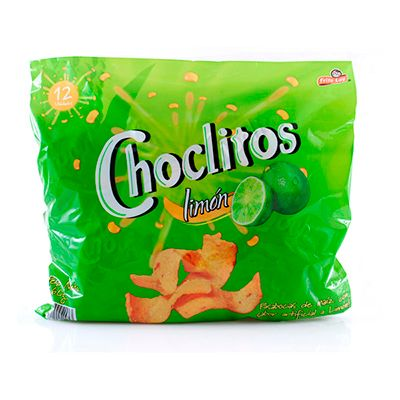Choclitos Limón x 12 Unidades 300g