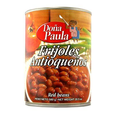 Fríjoles Antioqueños Doña Paula 580g