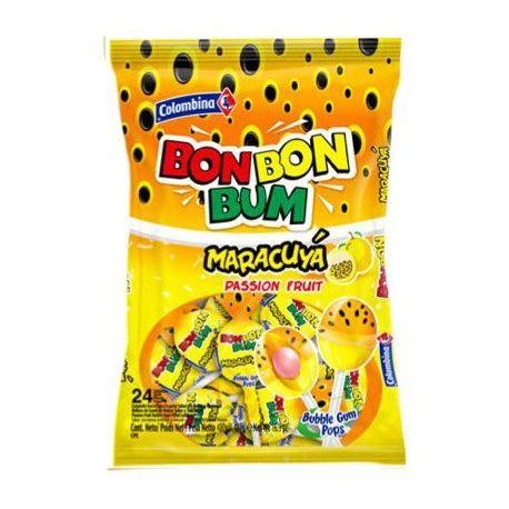 Bon Bon Bum maracuya x 24 unidades 408g