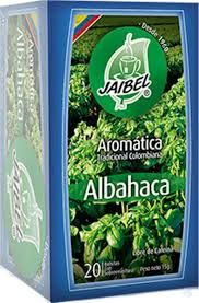 Aromatica Albahaca Jaibel x 20 Sobres