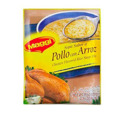 Sopa Pollo Con Arroz Maggi 60g