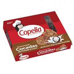 Cocadas de Panela y Coco Copelia x 6 Unidades 138g