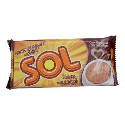 Chocolate con Azucar Sol 500g