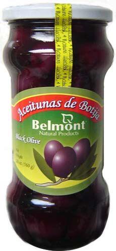 Aceitunas de Botija Belmont 560g