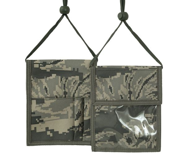 9919 AIR FORCE Digital Camo Neck ID Holder