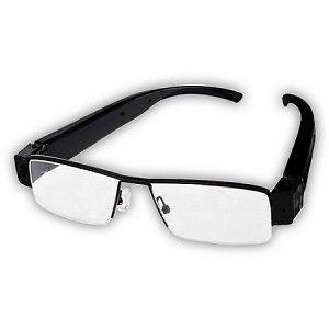 Spy Hidden Eyeglass Camera HD 1080p Audio/Video/Pictures DVR Recorder