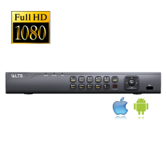 4 Channel HD-TVI/IP Advanced Level(Efficient) Digital Video Recorder