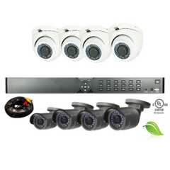 16 Channel (Gold) Security Bundle Eco- Energy Efficient