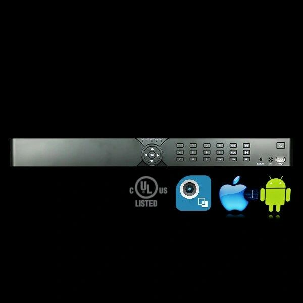 16 Channel H.264 HD-TVI Digital Video Recorder (DVR)