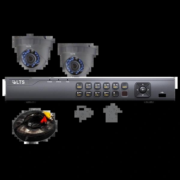 Two 2.1MP Camera Surveillance Bundle w/ 1TB HDD