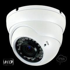 2.1 MP HD-TVI 36 IR LED Varifocal Turret Camera