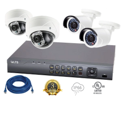 4 Camera (Omni) IP Security Bundle