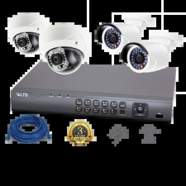 4 Camera (Omni) IP Security Bundle