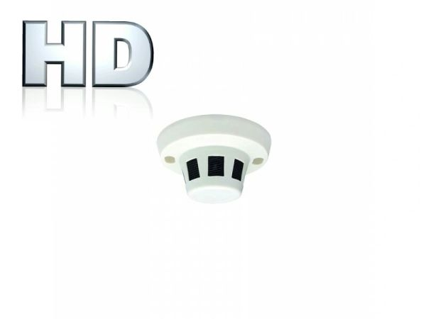 2.4 MP Covert Cam- 2.4 MP HD-TVI Camera Smoke Detector