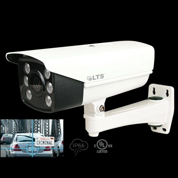 1.3 MP High Defenition LPR TVI Camera 24/7 Color Mode