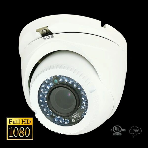 2.1MP HD-TVI True WDR 24 IR LED Turret Camera