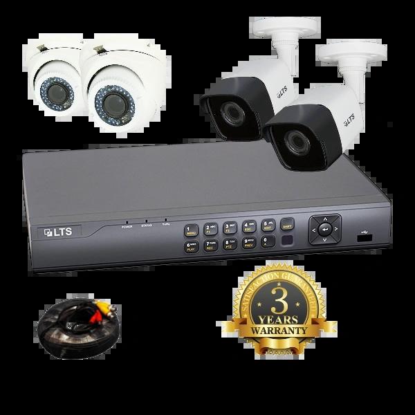 4 Camera (Platinum) Security Bundle