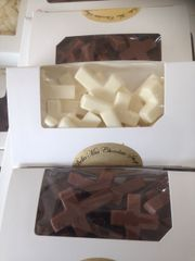 Mini Solid Chocolate Crosses 6 oz