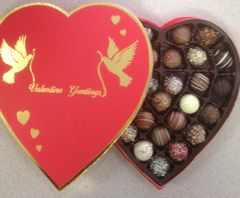 Heart Large Gift Box Truffles