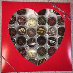 Valentine's Truffles Assortment One Pound