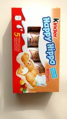 Kinder Happy Hippo Biscuits - 5 pk