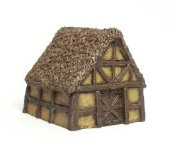 (6mm) Thatched Timber Framed Barn