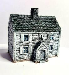 (10B009) Two Storey Clapboard House