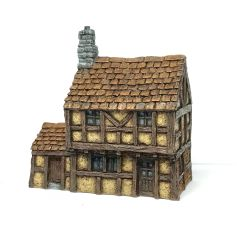 (10mm) Two Storey Half-timbered Townhouse (P10B004)