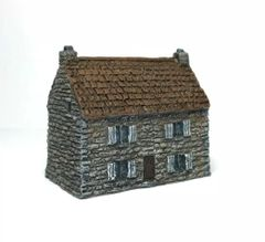 (SOLD) 6mm Stone-Built House