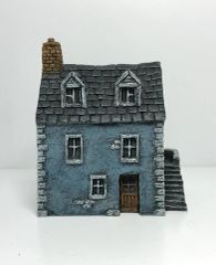 (Ready Painted) 10mm European Townhouse (#1)