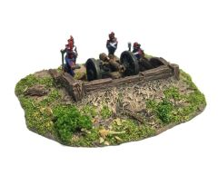 (10mm) Timber lined Emplacement (30mm Insert)