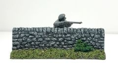 (28mm) Rural Wall Short Sections (2 per pack)
