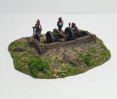 Timber lined Emplacement (10mm Ready painted)