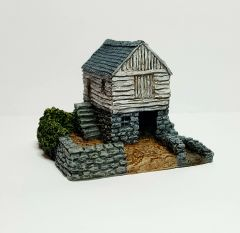 (6mm) Small Rural Water Mill (6mm)