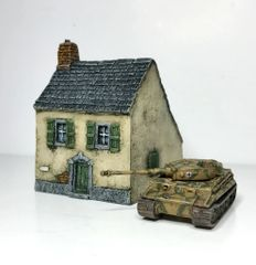 (10mm) European Townhouse #2 (10B012)