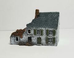 6mm Terrace Ruin (6mm ready painted whitewashed)