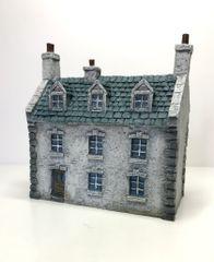 (10mm) European Townhouse #3 (P10B021)
