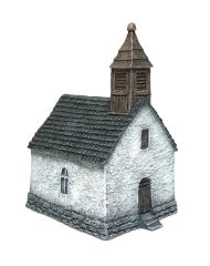 (10mm) Small Rural Chapel (10B031)
