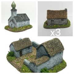 (6mm) 5 - Piece Russian Hamlet Set