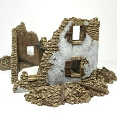 (Ready Painted) 20mm Stone House Ruin