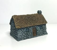 (Ready Painted) 10mm Thatched Croft