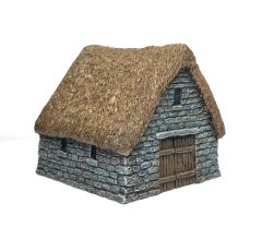 (10mm) Thatched Stone Barn