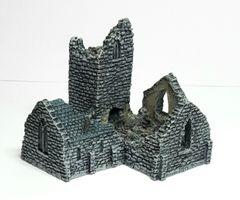 Church Ruin (6mm ready painted)