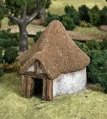 (Ready Painted) 10mm Dark Age Roundhouse