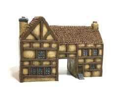 (Ready Painted) 6mm Timber Framed Gatehouse