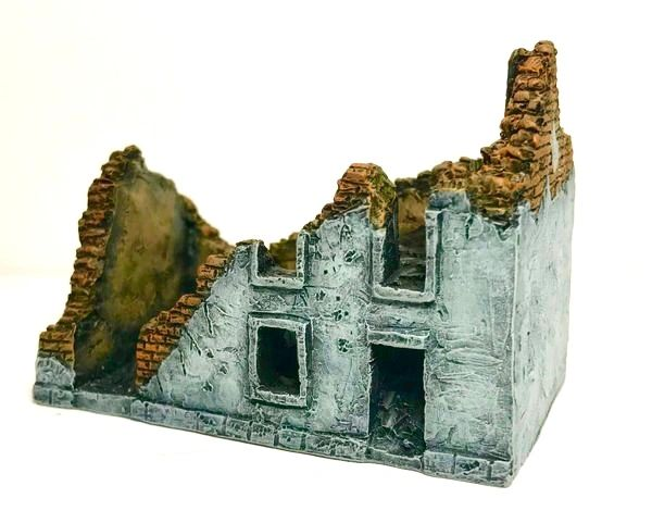 (Ready Painted) 10mm European Ruin (#1)