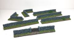 (Ready Painted) 21-Piece 10mm Stone Wall Set