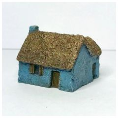 (6mm) Thatched Russian Hovel (pack of 2)